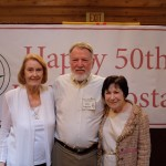 Mary Louise DeWolf, Jim and Josette Ingram, charter members