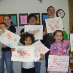 String Art with the RE Kids