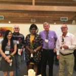 new members and Fred May 2018